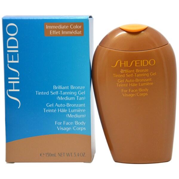 Shiseido Brilliant Bronze Tinted Self-tanning Medium Tan Gel