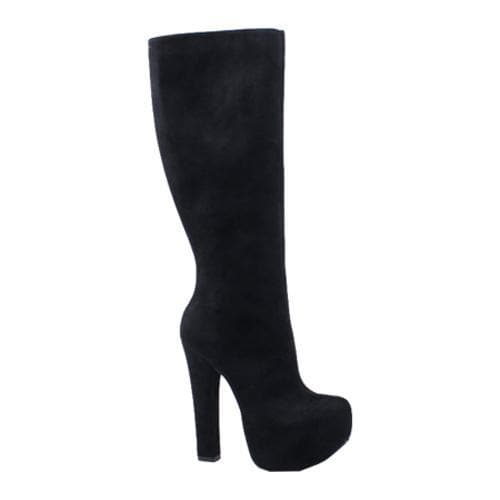 Women's Luichiny Hot To Trot Black Imi Suede