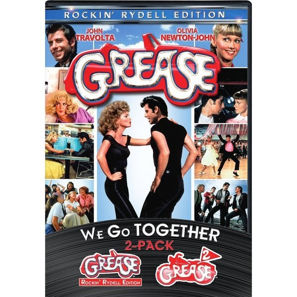 We Go Together Grease/Grease 2 (DVD)