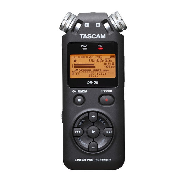 TASCAM DR-05 Handheld Portable Digital Recorder
