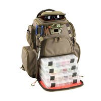 Wild River Tackle Tek Nomad Lighted LED Tackle Backpack with 4 Trays