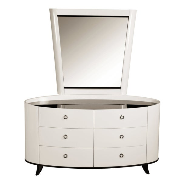 'Angelica' Beige Contemporary 6-drawer Dresser