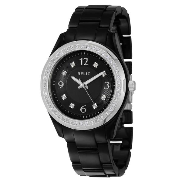 Relic by Fossil Women's Steel 'Starla' Crystal Watch