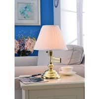 Traditional 15-inch High Arm Desk Lamp