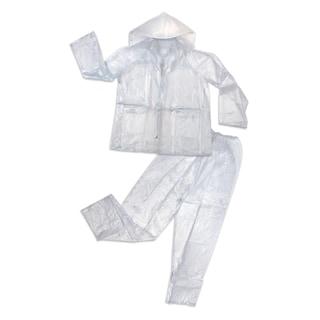Shop Cedar Keys Clear 3 Piece Pvc Rain Suit Free