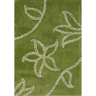 Alliyah Handmade Green New Zealand Blend Wool Rug (9x12)|https://ak1.ostkcdn.com/images/products/7582910/P15009749.jpg?impolicy=medium