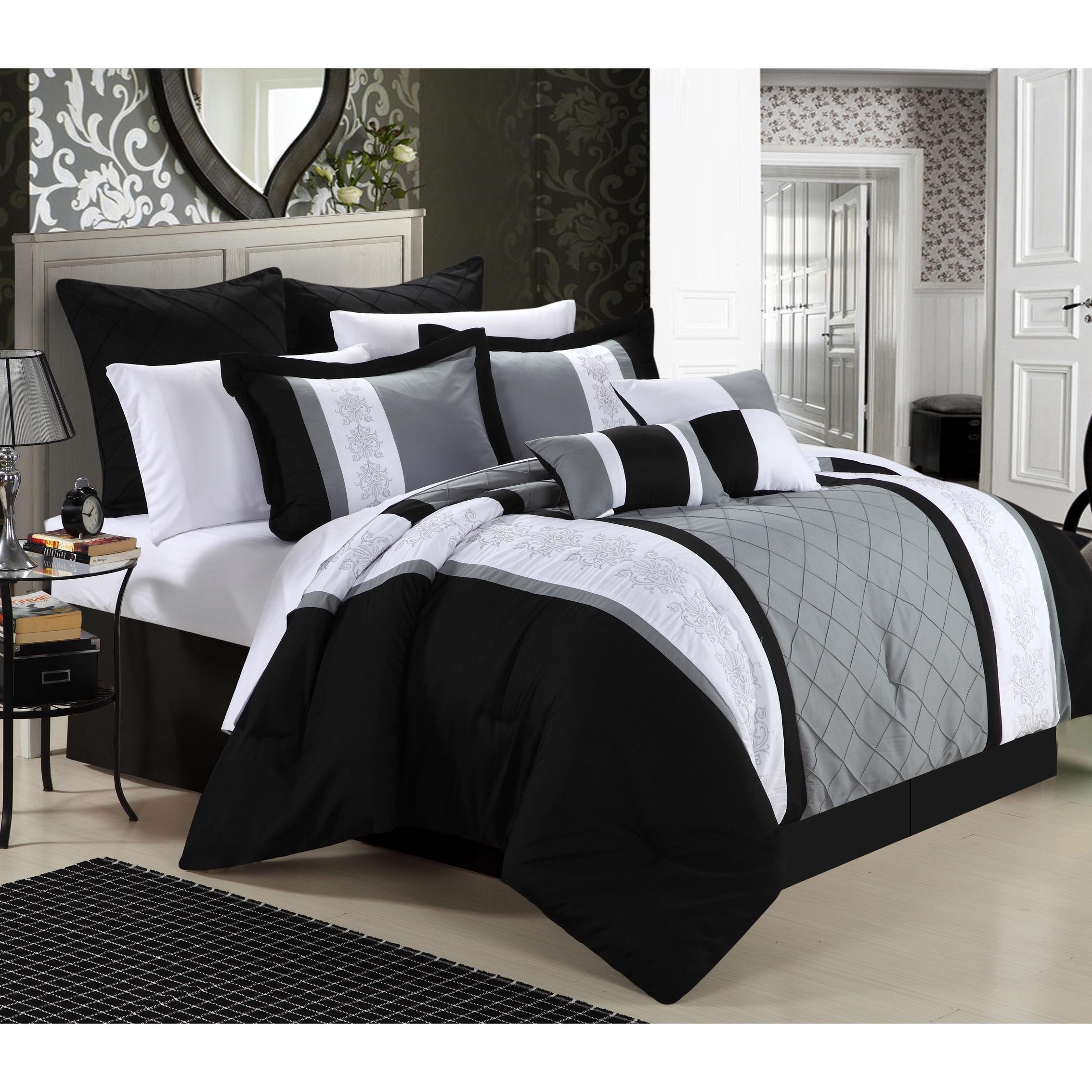 Livingston 8 Piece Comforter Set On Sale Overstock 7582915