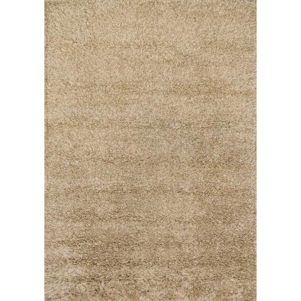 Hand-woven Nolan Camel Wool Rug