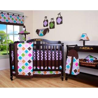 Geenny Boutique Diamond 13-piece Crib Bedding Set