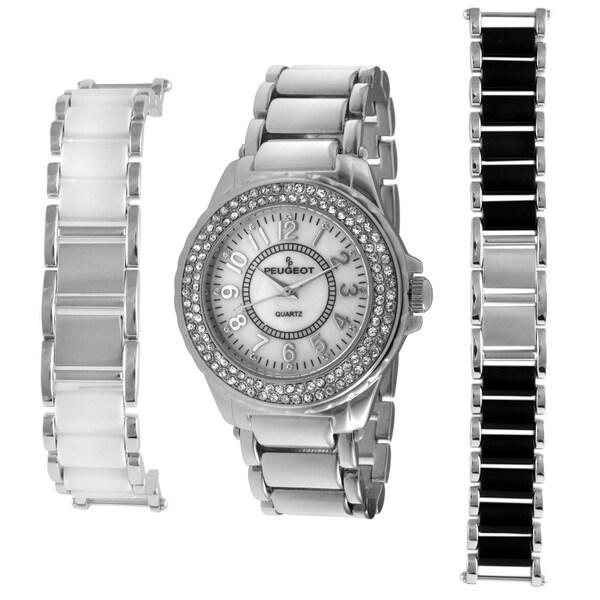 Peugeot Women's Steel Interchangeable Bracelet Watch