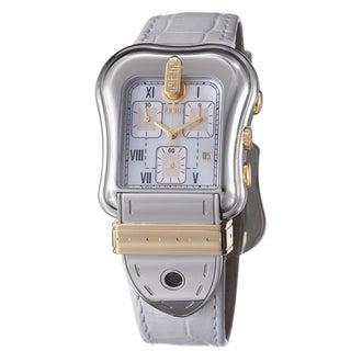 Fendi Women's 'B. Fendi' Mother Of Pearl Dial Two Tone Quartz Watch