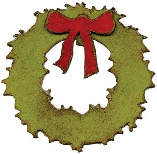 Sizzix Movers & Shapers Magnetic Dies By Tim Holtz 2/Pkg-Mini Wreath & Bow
