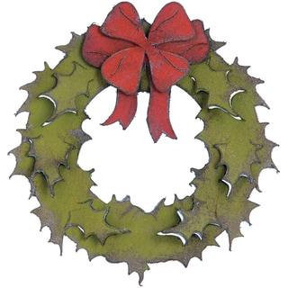 Sizzix Bigz Die By Tim Holtz-Holiday Wreath