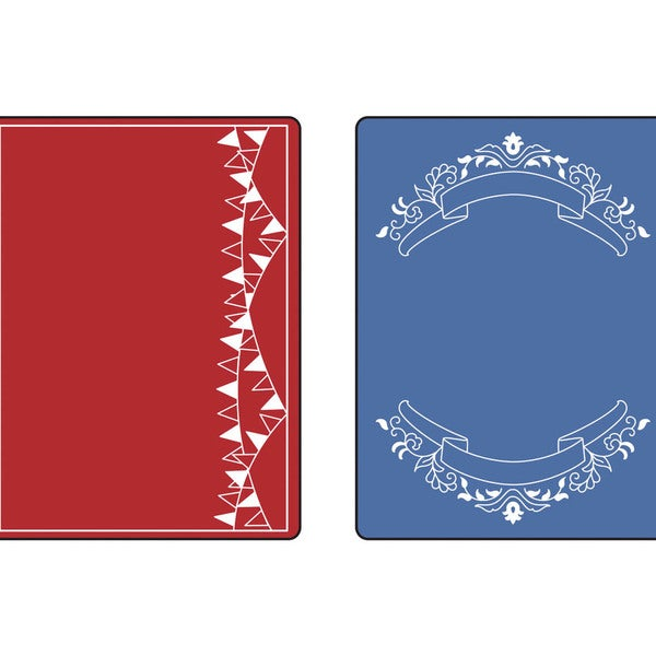 Sizzix Textured Impressions Embossing Folders 2/Pkg-Mini Banners