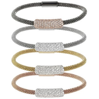 Journee Collection Italian Sterling Silver Cubic Zirconia Bracelet