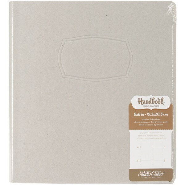 "Handbook Made In A Snap D-Ring Album 6""X8""-Frame"