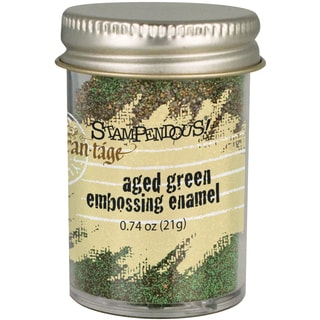 Stampendous Aged Embossing Enamel-Green