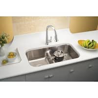 Gourmet Lustertone ELUH3520R Stainless Steel Undermount Sink