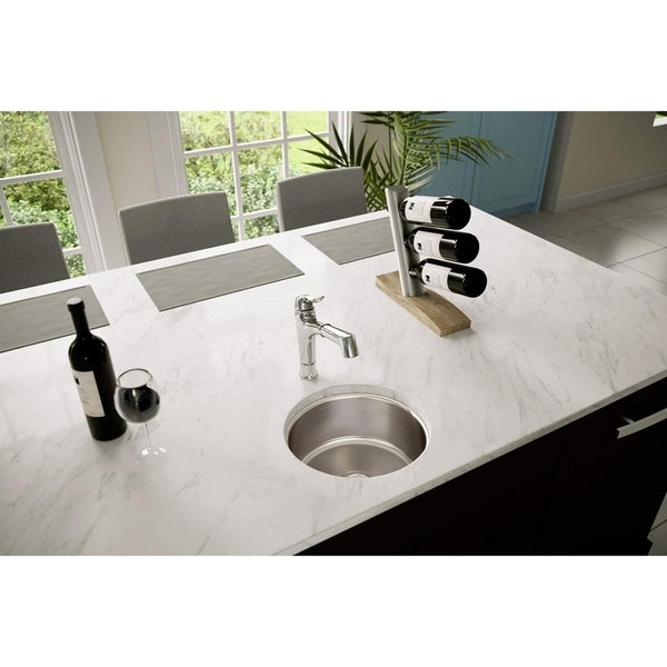 "Elkay Lustertone Classic Stainless Steel 14-3/8"" x 14-3/8"" x 6"", Single Bowl Undermount Sink"