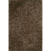 Hand-tufted Rocco Brown Shag Rug - 3'6 x 5'6