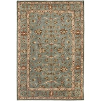Safavieh Handmade Heritage Timeless Traditional Blue Wool Rug (3' x 5')