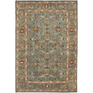 Safavieh Handmade Heritage Timeless Traditional Blue Wool Rug (3' x 5')