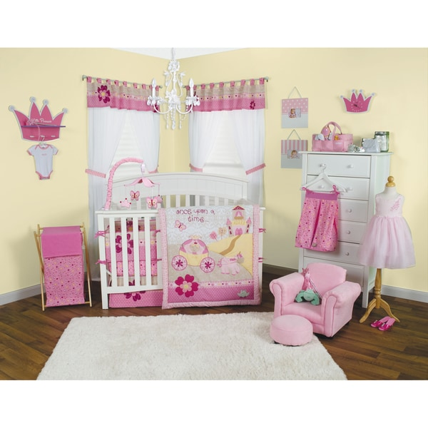 Trend Lab Storybook Princess 5 Piece Crib Bedding Set