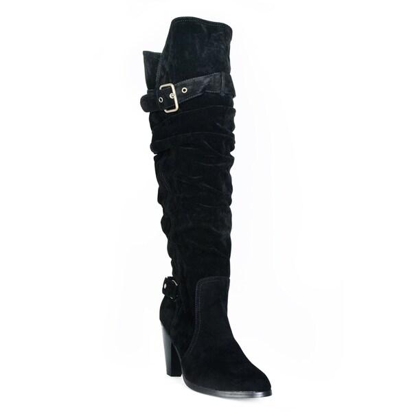Fahrenheit Women's 'Lena-02' Faux Suede Boots