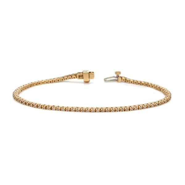 Auriya 14k White or Yellow Gold 6ct TDW Diamond Tennis Bracelet
