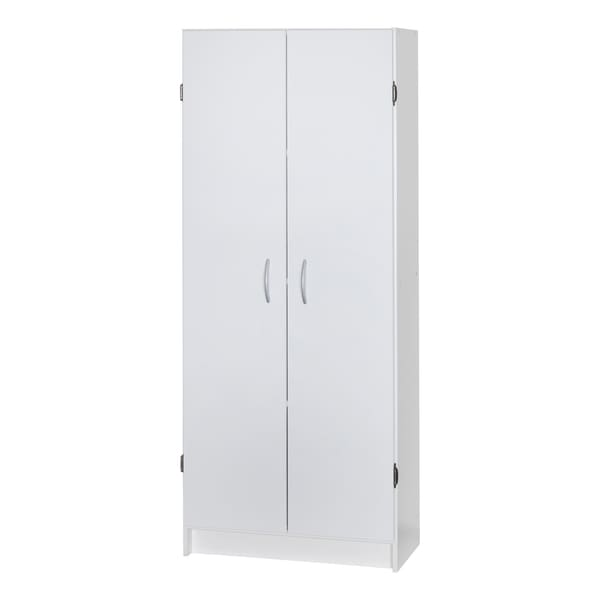Talon 60-inch White Storage Cabinet