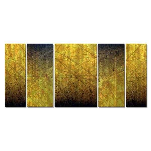 Justin Strom \'Embers\' Metal Wall Art - Ships To Canada - Overstock ...