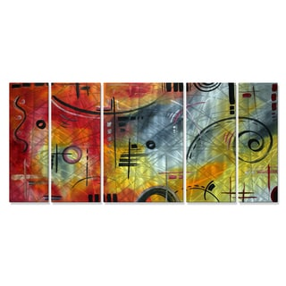 Megan Duncanson 'Joy and Happiness' Metal Wall Art