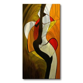 Ruth Palmer 'Meeting In The Middle' Metal Wall Art
