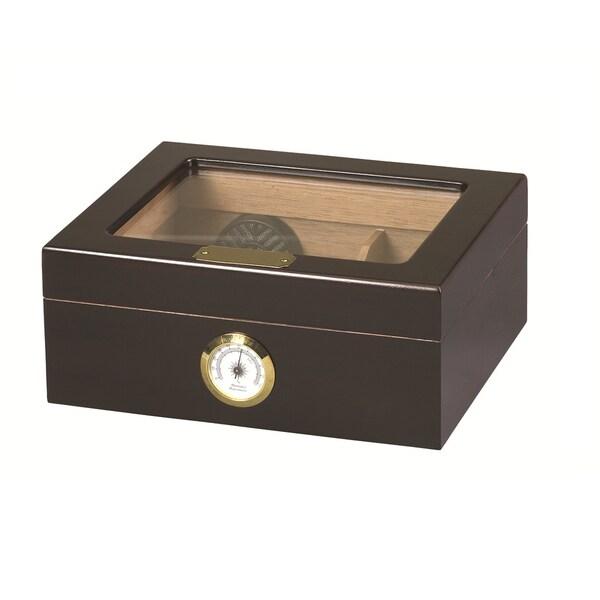 Capri Glass Top Cigar Humidor