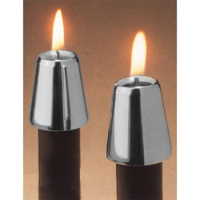 Horizon Pewter (Silver) Candle Followers (Set of 2) (Cand...