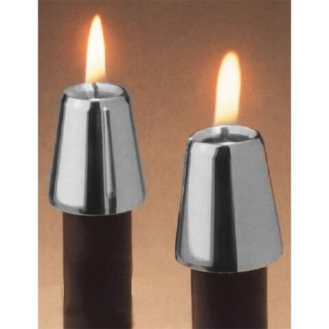 Horizon Pewter Candle Followers (Set of 2)