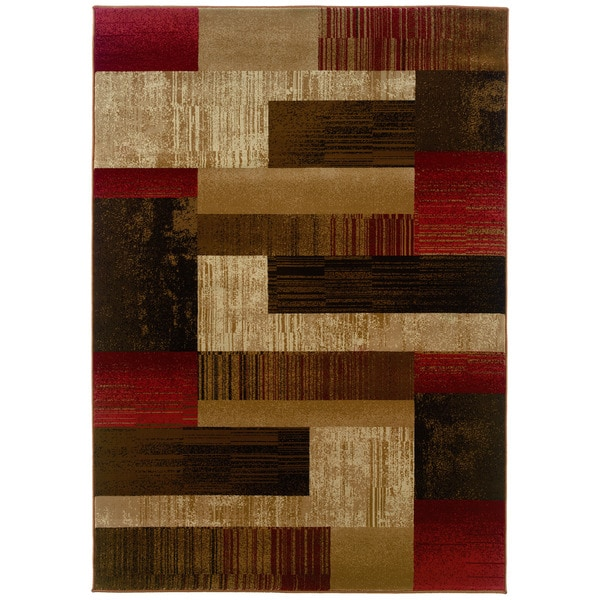 Somette Western Elegance Tallys Road Calm Afternoon Area Rug (9'x12'2)