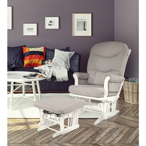 Dutailier Ultramotion Light Grey Multiposition Reclining