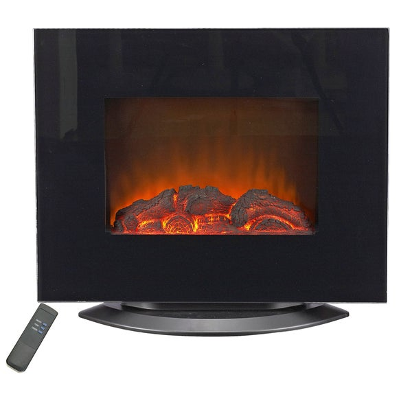 Lifesmart Dual Mount 800 Square Foot Infrared Wall Heater/ Fireplace with Remote