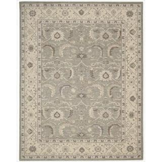 Nourison Graphic Illusions Moasic Grey Rug 3 6 X 5 6