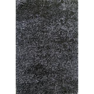 Hand-tufted Rocco Black Rug (7'6 x 9'6)