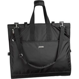 Wallybags 66 inch tri fold destination bag free shipping for Wedding dress garment bag for air travel