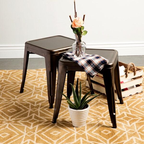 Vintage Tabouret Tables (Set of 2)