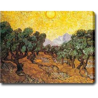Vincent van Gogh 'Sun over Olive Grove' Oil on Canvas Art