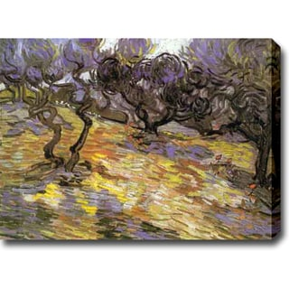 Vincent van Gogh 'Olive Trees' Oil on Canvas Contemporary Art