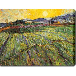 Shop Vincent Van Gogh Enclosed Field With Rising Sun