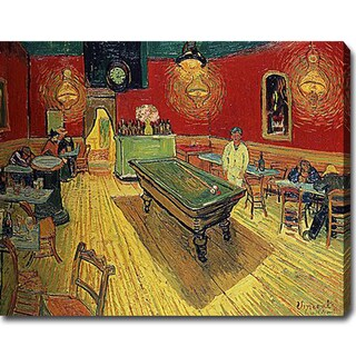 Vincent van Gogh 'The Night Café' Oil on Canvas Art