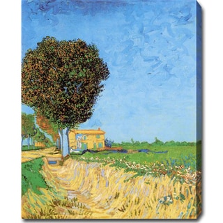 Vincent van Gogh 'A Lane Near Arles' Oil on Canvas Art