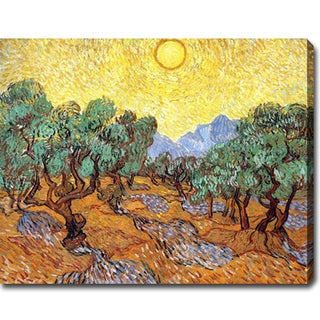 Vincent van Gogh 'Olive Trees' Oil on Canvas Art