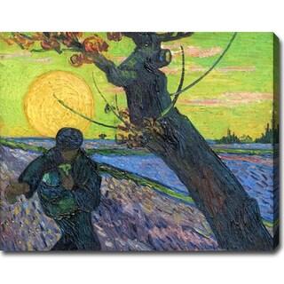Vincent van Gogh 'The Sower' Oil on Canvas Art